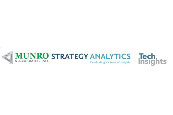 TechInsights hợp tác với Strategy Analytics, Munro & Associates tổ chức websinar về công nghệ xe điện