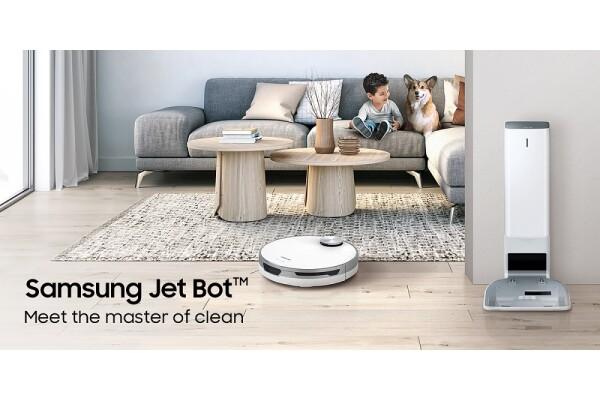 Samsung Electronics tung ra thị trường Singapore dòng tủ lạnh 4 cửa Flex mới, cùng robot hút bụi Jet Bot+