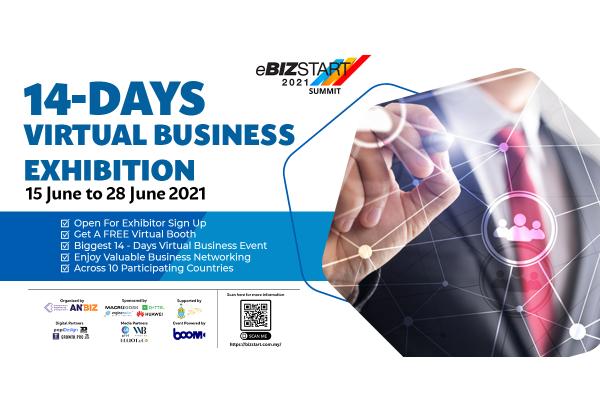 eBizstart 2021 tạo điều kiện thuận lợi cho các doanh nhân trên thế giới giới thiệu các cơ hội kinh doanh