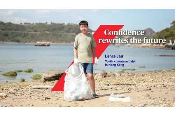 AXA phát hành video ca ngợi cậu bé 12 tuổi ở Hồng Kông như là tấm gương sáng về bảo vệ môi trường