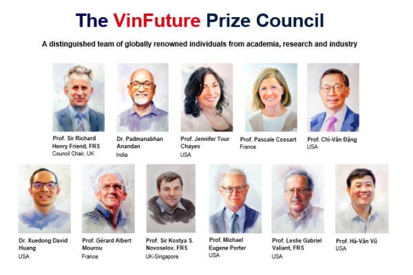 VinFuture Prize – giải thưởng khoa học công nghệ toàn cầu đầu tiên của Việt Nam đã nhận được gần 600 đề cử
