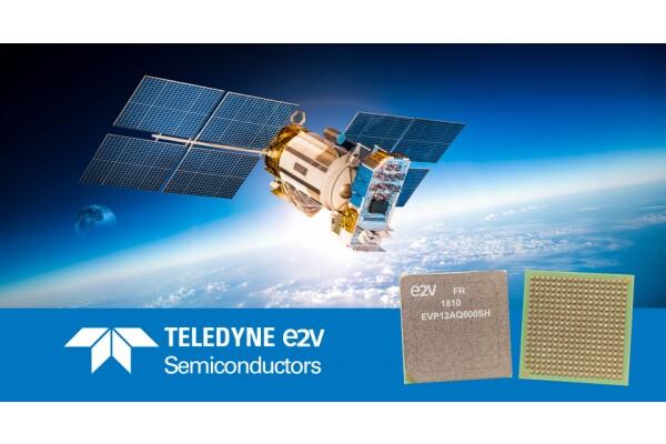 EV12AQ600 của Teledyne e2v là bộ chuyển đổi tín hiệu tương tự-kỹ thuật số 4 kênh có thể dùng trong vũ trụ
