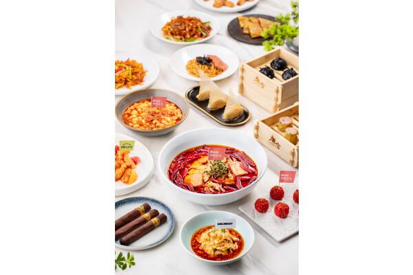 Green Monday Group phối hợp với Tang Palace giới thiệu nhiều món thịt làm từ thực vật tại Trung Quốc