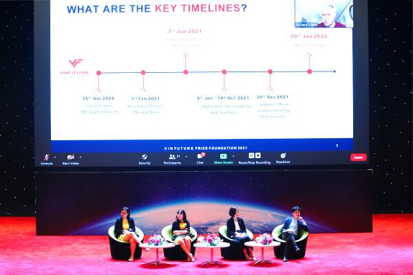 Giải thưởng Vinfuture Khoa học – Công nghệ toàn cầu của Việt Nam bắt đầu tiến hành Vòng sơ tuyển