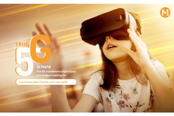 M1 (thuộc Keppel Corporation) ra mắt mạng True 5G sử dụng công nghệ độc lập 5G tiên tiến nhất ở Singapore
