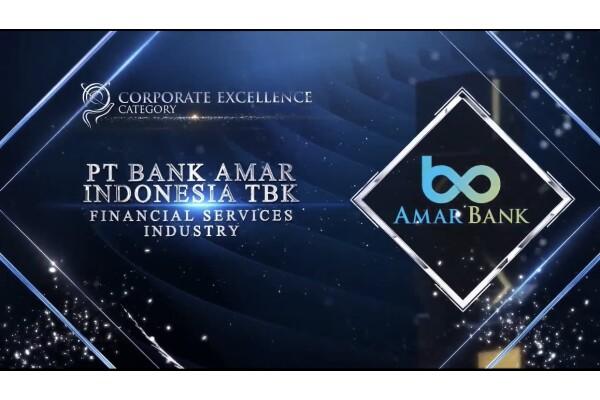 Ngân hàng Amar (Indonesia) giành được 2 giải thưởng danh giá ở châu Á – Thái Bình Dương năm 2021