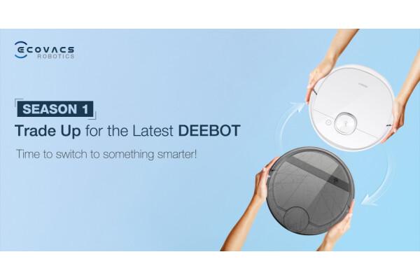 ECOVACS ROBOTICS hợp tác với Shopee để hỗ trợ người dùng Malaysia có thể mua sắm robot hút bụi DEEBOT mới