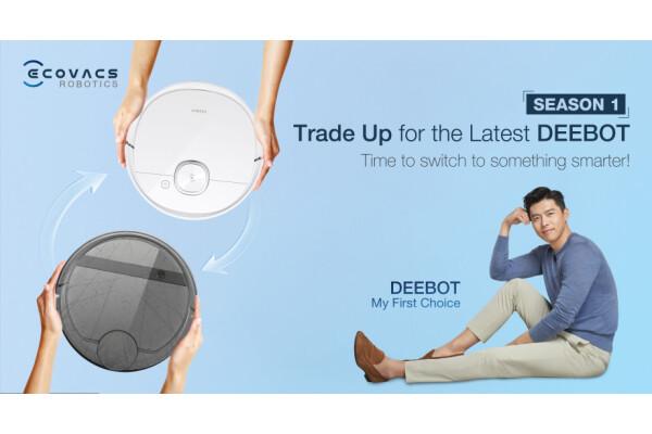 ECOVACS ROBOTICS hợp tác với Shopee để giúp người dùng Thái Lan đổi máy hút bụi cũ lấy robot DEEBOT mới