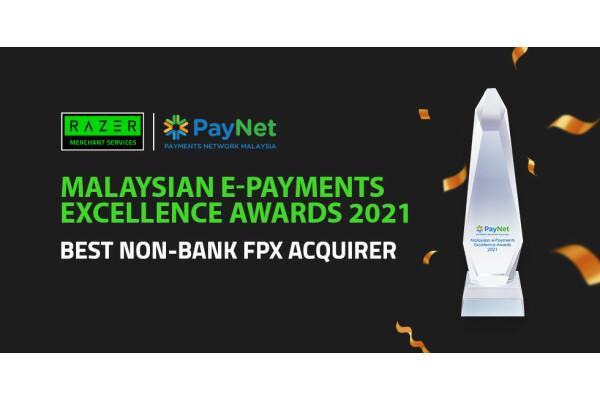 Razer Merchant Services được Paynet trao Giải thưởng đơn vị thanh toán FPX (không phải ngân hàng) tốt nhất