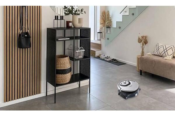 Robot lau sàn, hút bụi Shinebot W455 của Công ty ILIFE hiện đã có mặt tại thị trường châu Âu