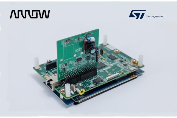 Arrow Electronics công bố giải pháp cảm biến nhiệt được hỗ trợ bởi STMicroelectronics (STM) 'X-CUBE AI