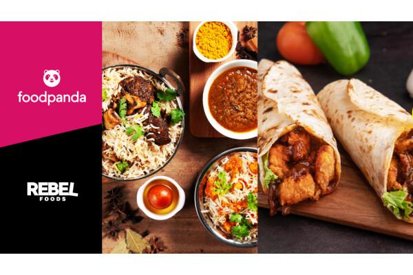 foodpanda và Rebel Foods khởi động quan hệ đối tác thương hiệu ảo lớn nhất châu Á